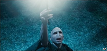 Lord Voldermort in Harry Potter and the Deathly Hallows Part 1