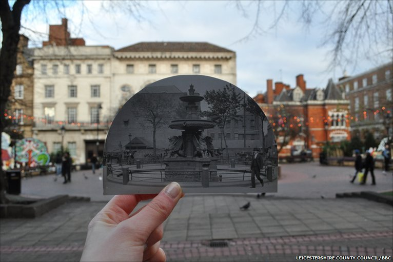 Bbc Turn Back Time Leicester City Centre Past And Present