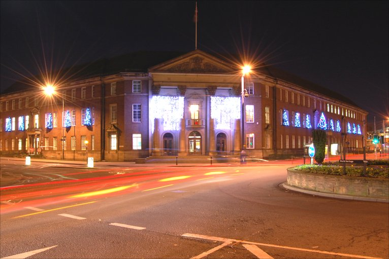 Bbc In Pictures Closing Derby Council House