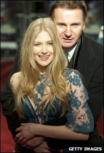 Liam Neeson and Laura Brent