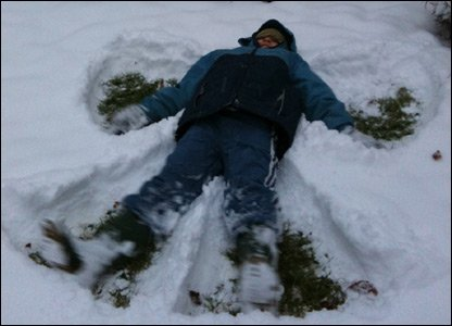 Jonty snow angel west sussex