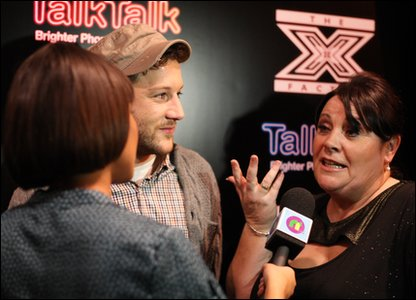 Mary Byrne and Matt Cardle