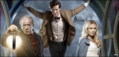 Katherine Jenkins, Matt Smith and Michael Gambon