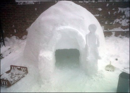 Andy and Luke's igloo