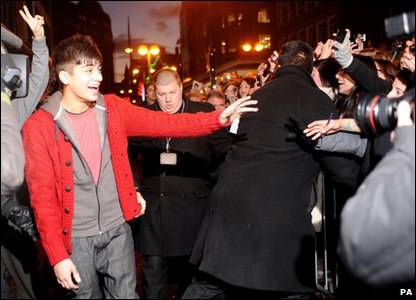 X Factor - Zayn from One Direction arrives at an autograph signing in Bradford