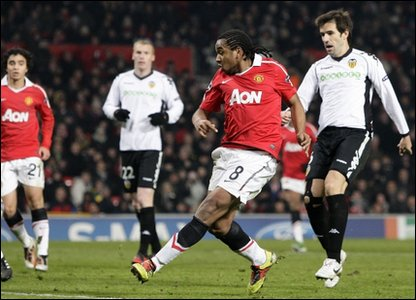 Anderson scores for United