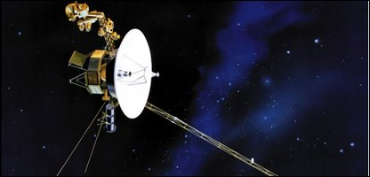 An artist's impression of Voyager