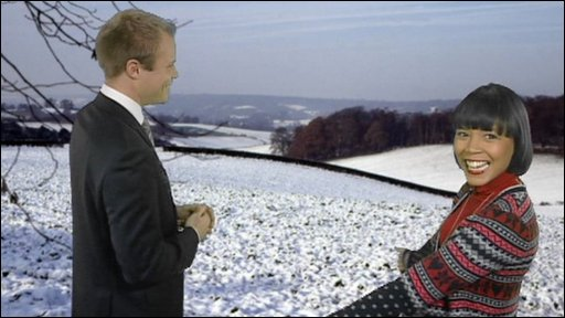 Leah chats to weather forecaster Simon King