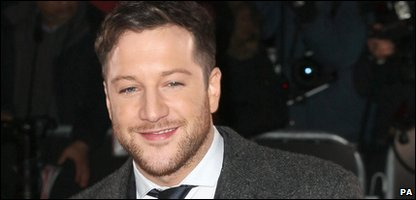 Matt Cardle, winner of The X Factor 2010