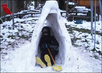 Christina and Daniel's igloo