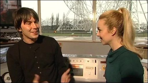 Hayley chats to Prof Brian Cox