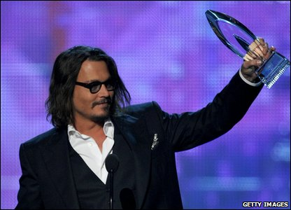 People's Choice Awards 2011 - Johnny Depp