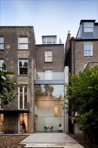Bbc in pictures london 39 s best home extensions - Glass extensions to houses ...