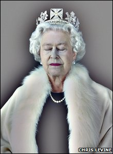 A picture of the Queen - Lightness of Being - from 2007 from Kevin Burke