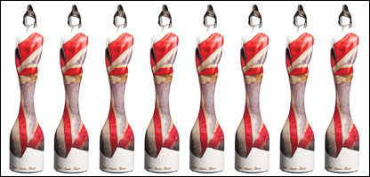The Brit Award for 2011 winners, as designed by Vivienne Westwood