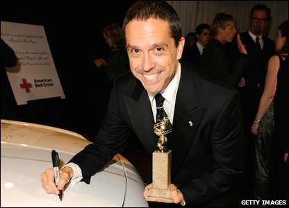 Golden Globes 2011 - Toy Story 3 director Lee Unkrich