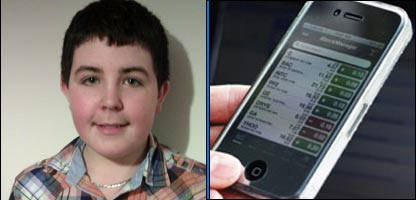 12-year-old Kristen tracked down the thief who stole his mum's mobile phone.