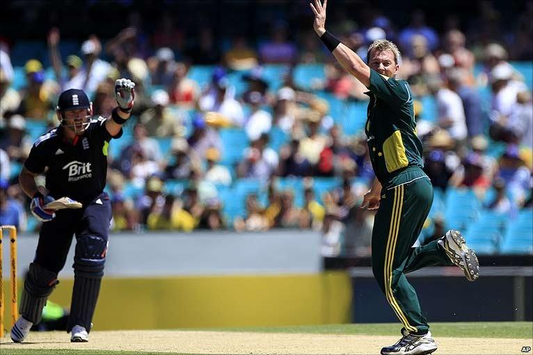 BBC Sport - Cricket - Australia v England 3rd ODI photos