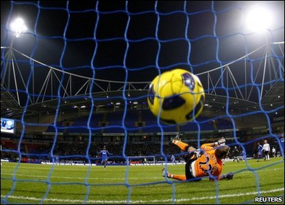Didier Drogba's strike that opened the scoring at the Reebok Stadium