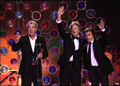 Top Gear won best factual programme