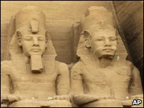 Great Temple of Ramses II in Abu Simbel, Egypt