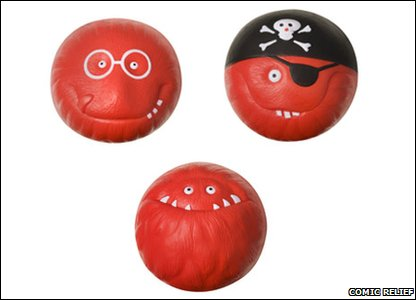 This year there are three different red noses