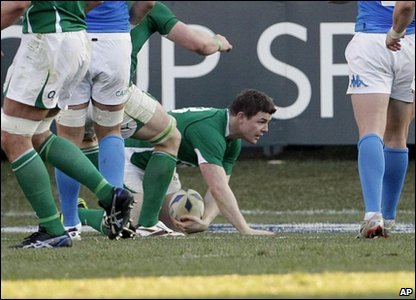 Six Nations - Ireland take on Italy