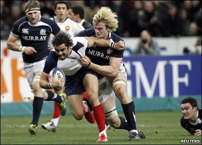 Six Nations - France take on Scotland