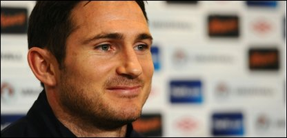 Lampard will captain England for the first time