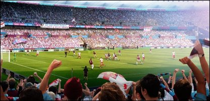 How the stadium might look if West Ham take over