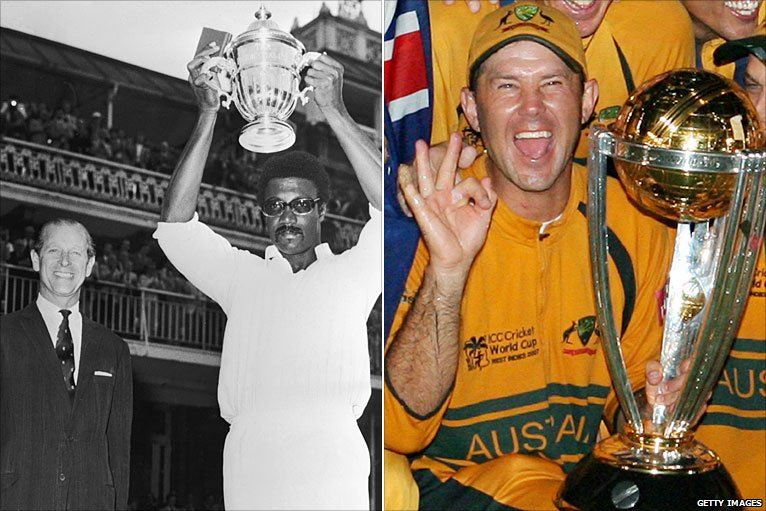 Bbc Sport Cricket Cricket World Cup History In Pictures