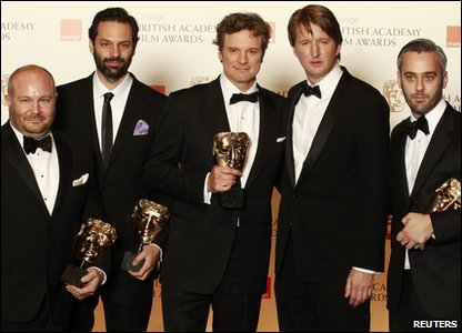 The team from the film The King's Speech