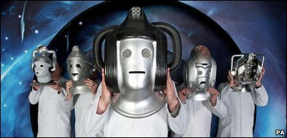 Cybermen from the Doctor Who Experience