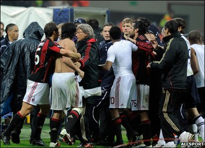 Gattuso said sorry for the incident afterwards.