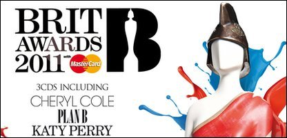 The cover of the Brit Awards 2011 album