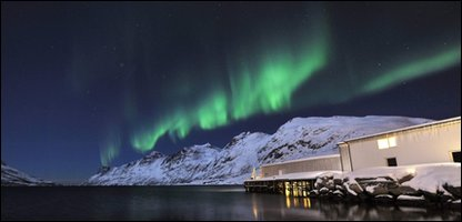 The northern lights are rare but beautiful