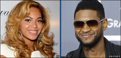 Beyonce and Usher both performed for the Gaddafi family