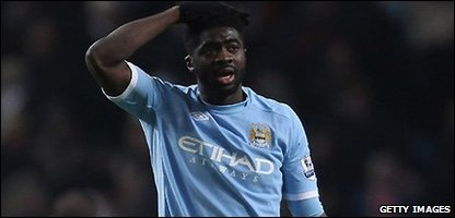 Manchester City player Kolo Toure, who has been suspended after failing a drugs test