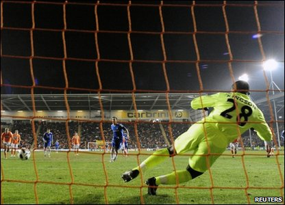 The goal scored by Frank Lampard