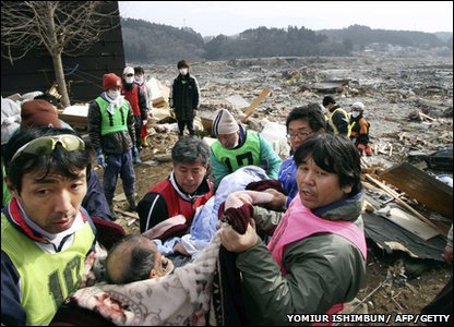 Japan tsunami survivors