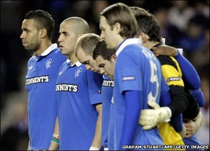 Glasgow Rangers players