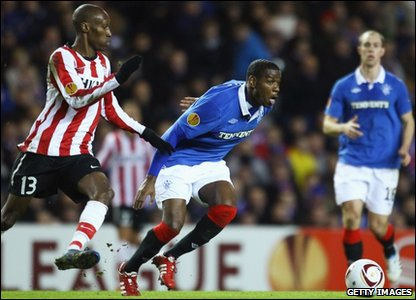 Maurice Edu of Rangers
