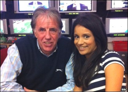 MOTD's Mark Lawrenson and Kickabout's Sonali