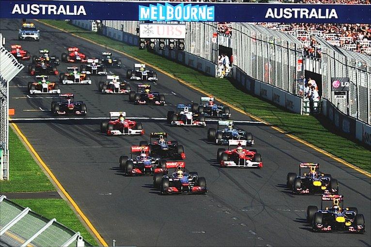 BBC Sport - F1 - Australian Grand Prix photos
