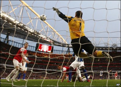 ...which was the same as the Arsenal Blackburn draw (also 0-0)...