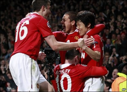 They beat Chelsea 2-1 at Old Trafford last night.