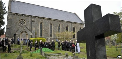 Funeral for John Horwood