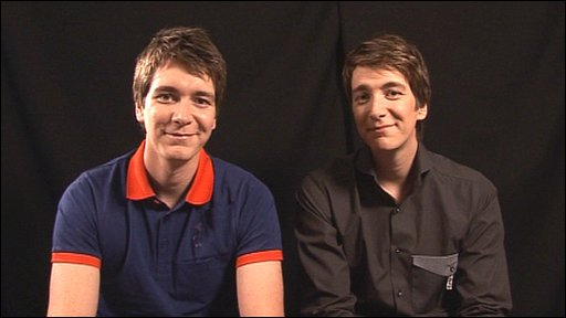 The Phelps twins, who play Fred and George Weasley in Harry Potter, tell us what they were like when they were 10