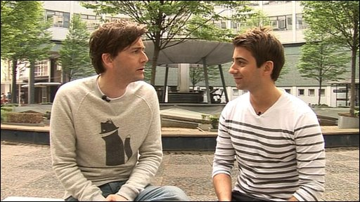Ricky chats to David Tennant