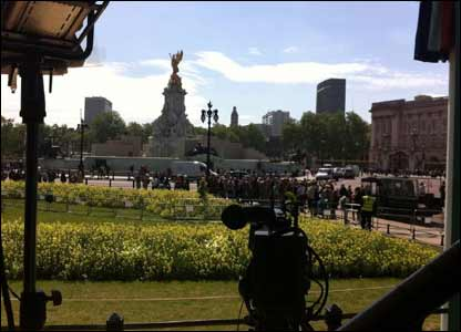 Royal wedding broadcasting spot for Newsround